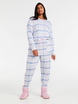 P.A. Plus Fuzzy Check Pj Pant