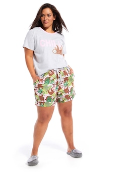 P.A. Plus Sloth Boy Short