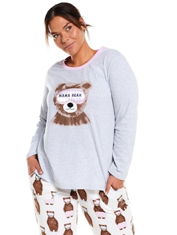 P.A. Plus Mama Bear Long Sleeve Top