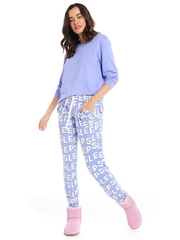 Sleep Plush Tapered Pj Pant