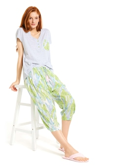 Palms Drop Crotch Pj Pant
