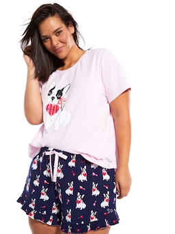 P.A. Plus Love Frenchie Flutter Short