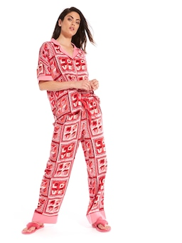 Love Tile Pj Set
