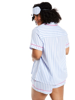 P.A. Plus Candy Stripe Short Sleeve Shirt