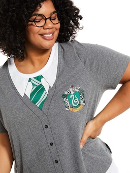 P.A. Plus Harry Potter Slytherin House Tee