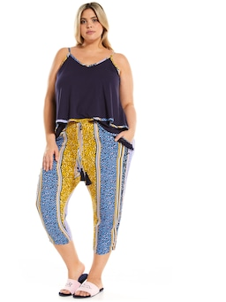 P.A. Plus Animal Tassel Drop Crotch Pj Pant