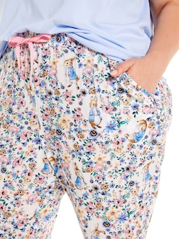 P.A. Plus Peter Rabbit Floral Tapered Pj Pant