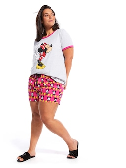 P.A. Plus Mickey Mouse Mid Short