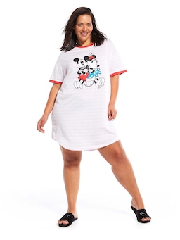 P.A. Plus In Love With Mickey Sleep Tee