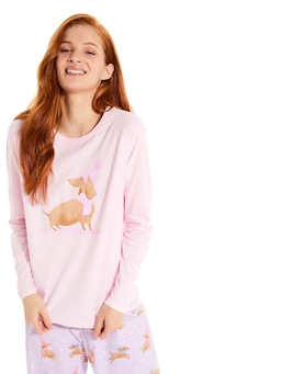 Snow Puppy Long Sleeve Top