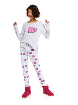 Dreamy Kitty Pj Set