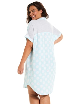 P.A. Plus Mint Boyfriend Nightshirt