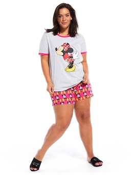 P.A. Plus Minnie Right Kisses Tee