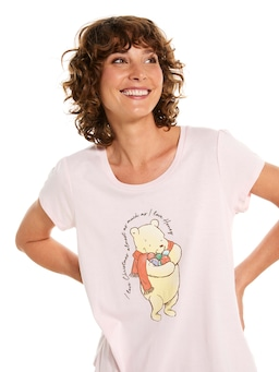 Pooh Bear Loves Christmas Tee