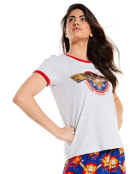 Captain Marvel Logo Tee