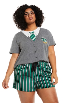 P.A. Plus Harry Potter Slytherin Mid Short