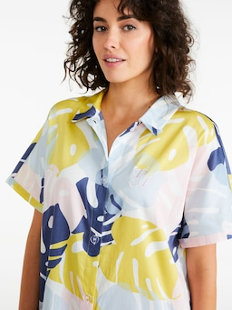 Palm Leaf Nightshirt