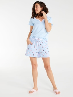 Blue Spot Long Short