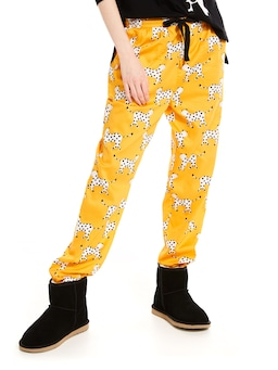 Cheetah Roll Up Pj Pant
