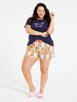 P.A. Plus Retro Vegemite Mid Short