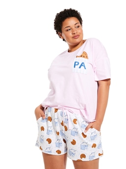 P.A. Plus Cookies And Milk Mid Short