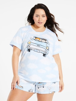 P.A. Plus Harry Potter Flying Car Tee