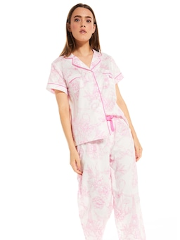 Pink Eiffel Tower Pj Set
