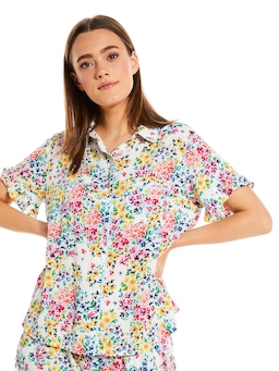 Ditsy Floral Short Sleeve Shirt