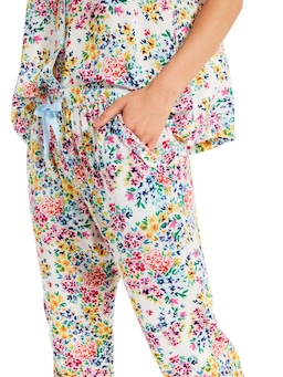 Ditsy Floral Tapered Pj Pant