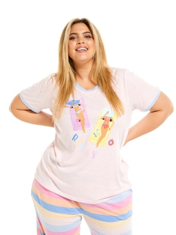P.A. Plus Relax Lilo Girls Tee