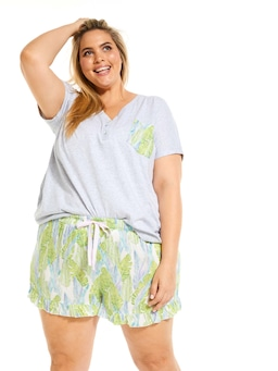 P.A. Plus Palms Frill Edge Short