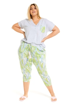 P.A. Plus Palms Drop Crotch Pj Pant