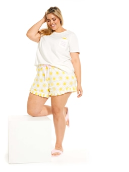 P.A. Plus Sunshine Flutter Mini Short