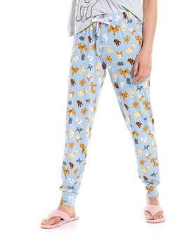 Blue Doggo Easy Pj Pant