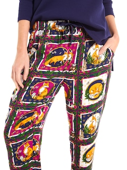 Foxy Tile Tapered Leg Pj Pant