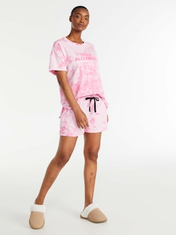 Tie Dye Long Short