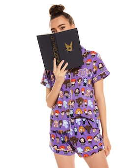 Harry Potter Shortie Pj Set