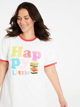 P.A. Plus Happy Little Vegemite Sleep Tee