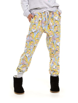 Disney Alice In Wonderland Cuff Pj Pant