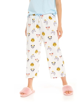 Animal King 3/4 Pj Pant