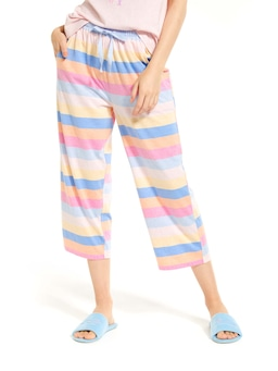 Beach Stripe 3/4 Pj Pant