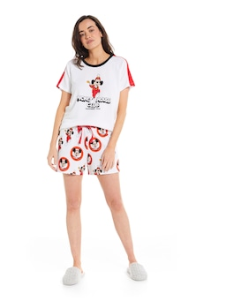 Mickey Mouse Club Waffle Long Short