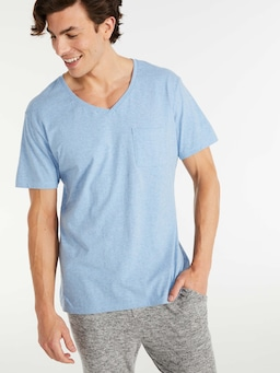 P.A. Classic V Neck Pocket Tee