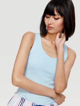 P.A. Classic Tank With Shelf Bra