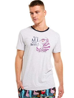 Disney We're All Mad Here Tee