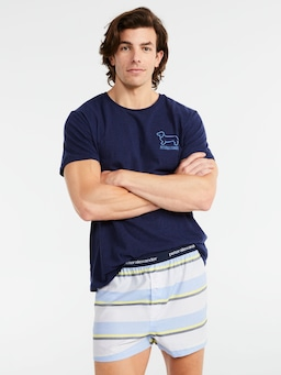 Awning Stripe Boxer Short