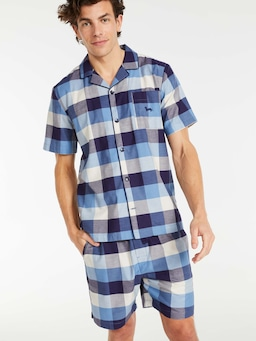 Buffalo Check Shortie Pj Set