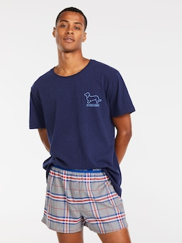 Como Check Boxer Short