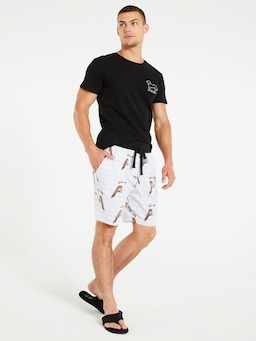 Kookaburra Knit Mid Short