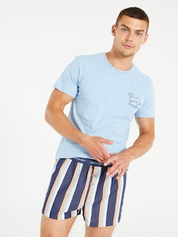 Summer Stripe Boxer Short